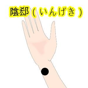 陰郄(いんげき)